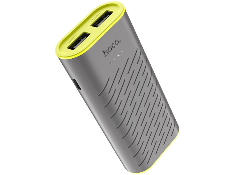 Внешний аккумулятор Hoco Power Bank B31C Sharp 5200mAh Gray