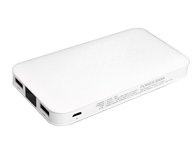 Аккумулятор Hoco J29A Cool Square 10000mAh White