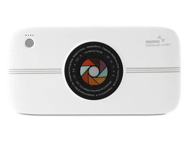 Внешний аккумулятор Remax RPP-91 10000 mAh White