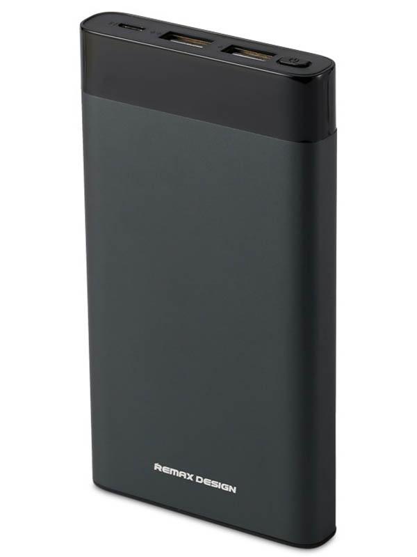 Внешний аккумулятор Remax Power Bank Renor RPP-120 10000mah Grey цена и фото