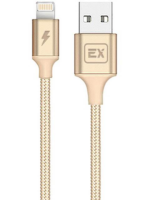Аксессуар Exployd USB - 8 Pin Classic 1m Gold EX-K-506