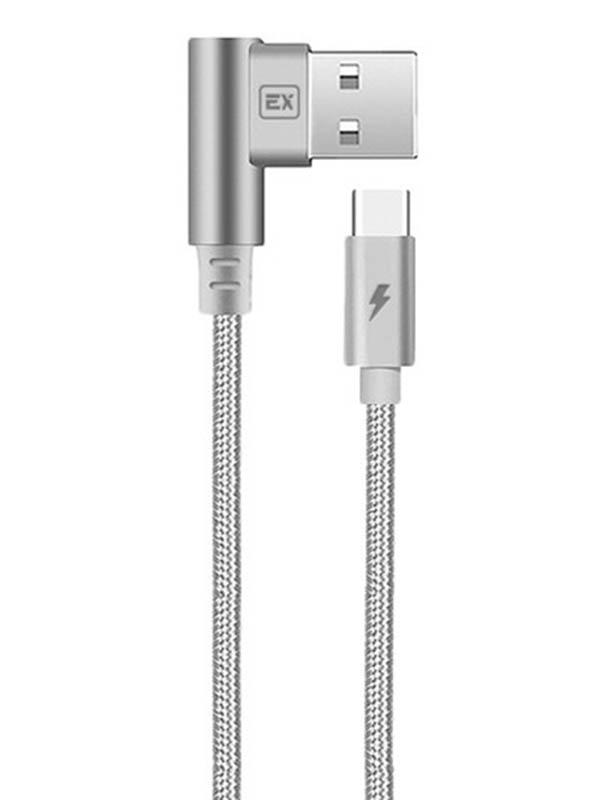 Аксессуар Exployd USB - TYPE-C Classic 1m Grey EX-K-515