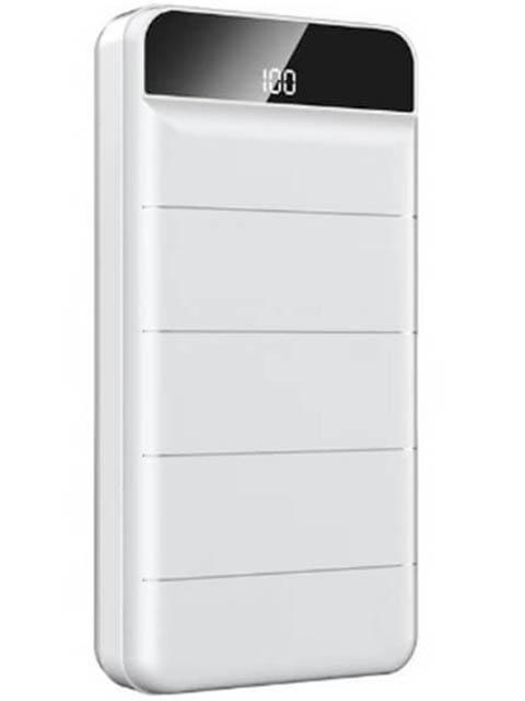 Внешний аккумулятор Remax Power Bank Leader RPP-141 30000mAh White power bank 10000 mah remax rpp 18 white