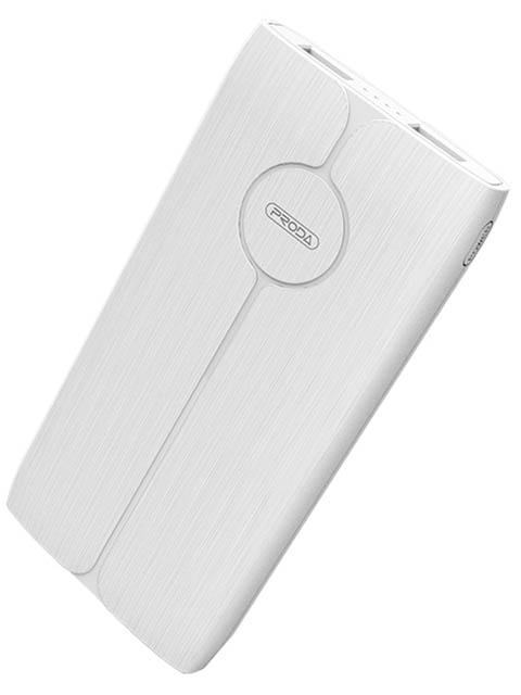 Внешний аккумулятор Remax Power Bank Proda Phantom Series 10000mah White PD-P22