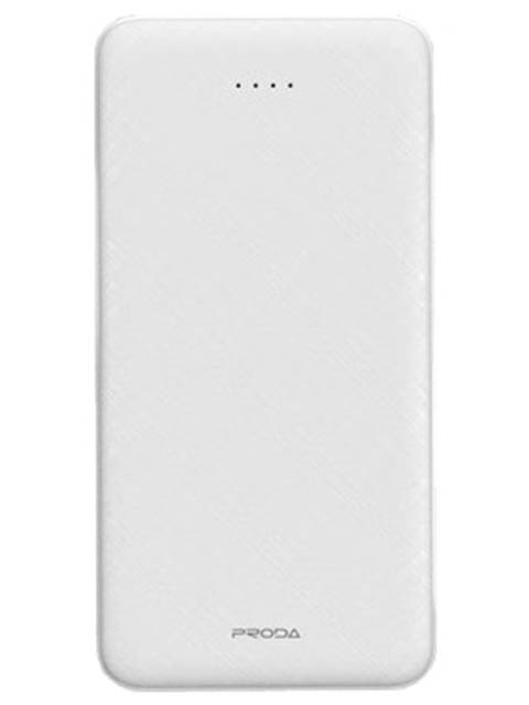 Внешний аккумулятор Remax Power Bank Proda Hujon 10000mAh White PD-P39