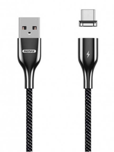 Аксессуар Remax Magnetic Series USB - Lightning Black RC-158i