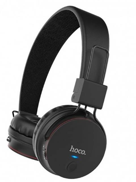 Наушники Hoco W19 Easy Move Black