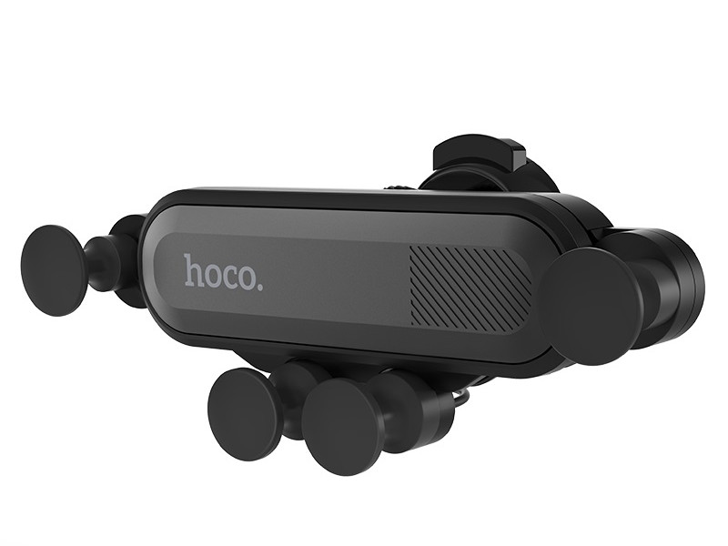 Держатель Hoco CA51 Air Outlet Gravity In-Car Holder Black