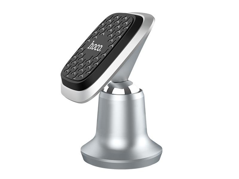 Держатель Hoco CA44 Magnetic In-Car Holder Silver