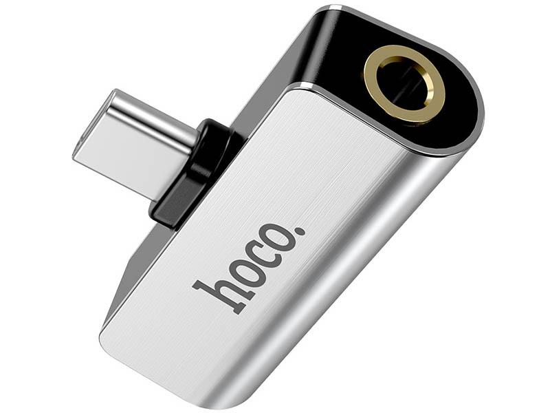 Фото - Аксессуар Hoco LS26 Type-C 2-in-1 Audio Converter Silver пылесос nilfisk handy 2 in 1 18v 128350261