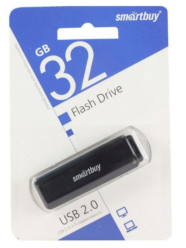 USB Flash Drive 32Gb - SmartBuy LM05 Black SB32GBLM-K