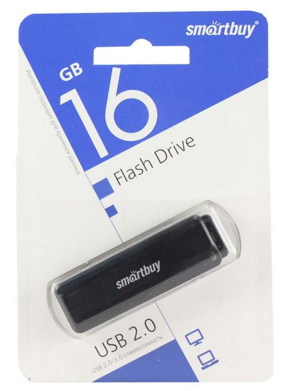 USB Flash Drive 16Gb - SmartBuy LM05 Black SB16GBLM-K цена и фото