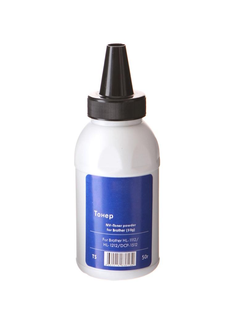 Тонер NV Print NV-Brother 50г для HL-1112/HL-1212/DCP-1512 картридж nv print для hl 6180dw dcp 8250dn mfc 8950dw 12000k nv tn3390