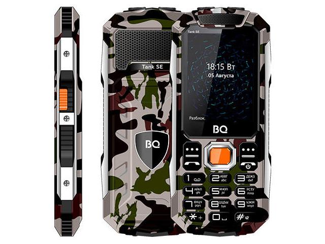 Сотовый телефон BQ 2432 Tank SE Military Green