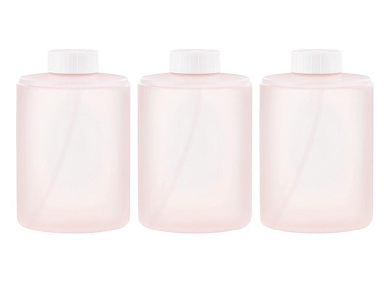 Комплект сменных блоков Xiaomi для дозатора Mijia Automatic Foam Soap Dispenser Pink 3шт