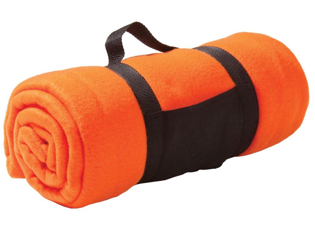 Плед дорожный Проект 111 Soft 127x152cm Orange 4677.20