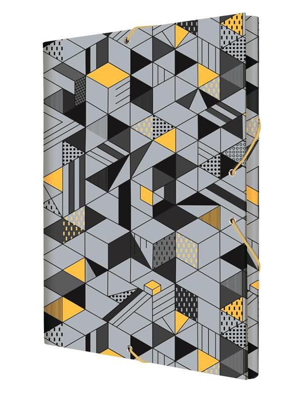 Папка Milan Cube А4 Grey-Orange 5110150CU