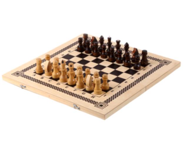 цена Игра Орловская Ладья 2 в 1 Шахматы + шашки 622