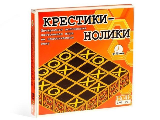 Настольная игра Задира Крестики-нолики 5045