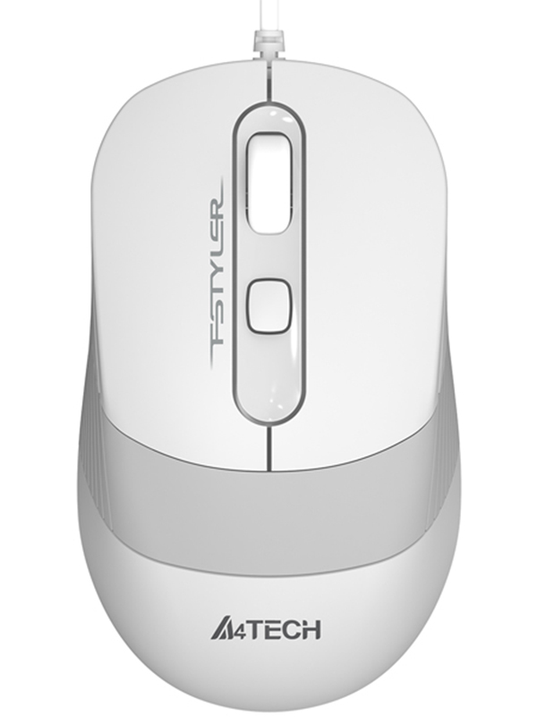 Мышь A4Tech Fstyler FM10 White-Grey