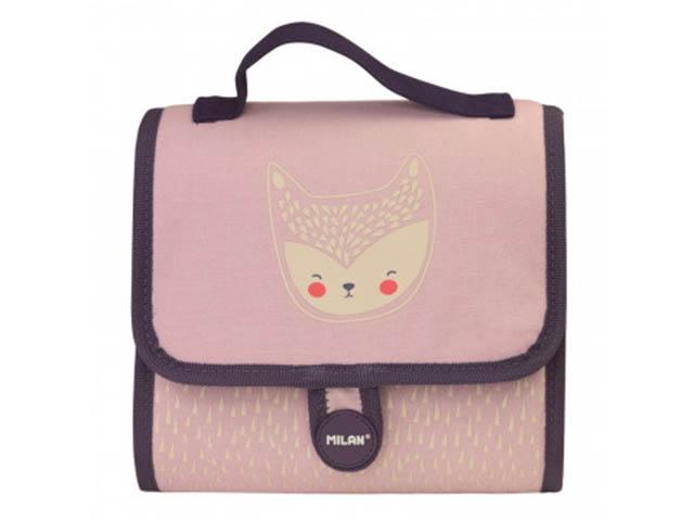 Рюкзак Milan Berrywood +2 пенала Pink 08831BP