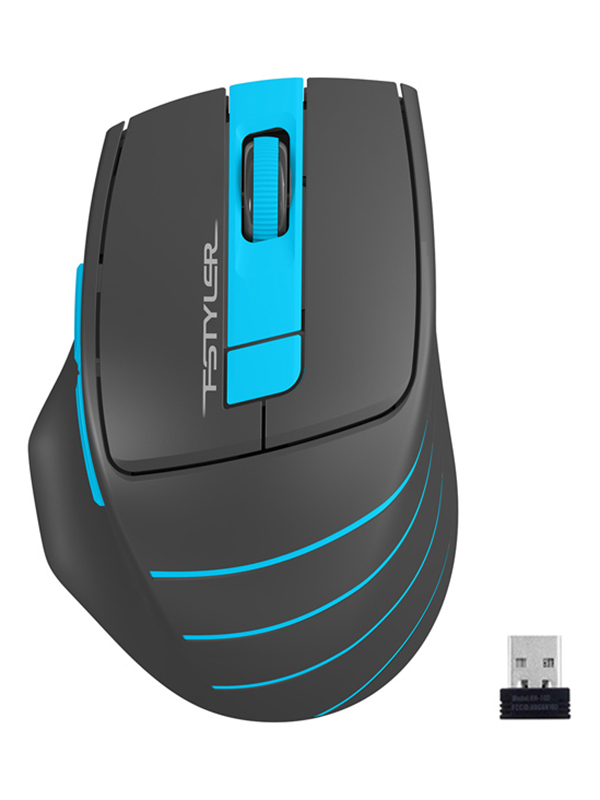 Мышь A4Tech Fstyler FG30 Grey-Blue