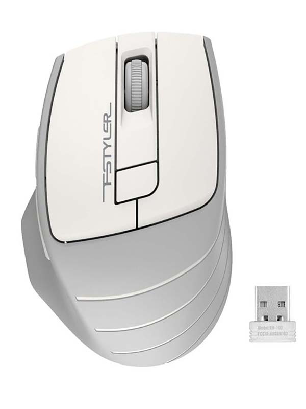 Мышь A4Tech Fstyler FG30 White-Grey