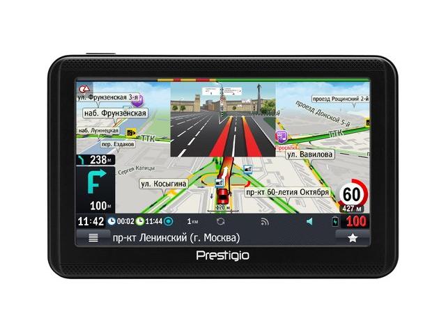 Навигатор Prestigio Geovision 5060 Progorod