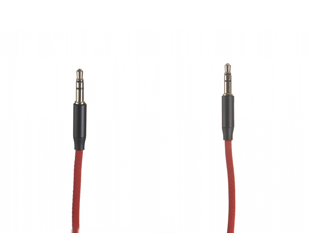 Аксессуар Baseus Yiven Audio Cable M30 Jack 3.5mm - 1.5m Red-Black CAM30-C91