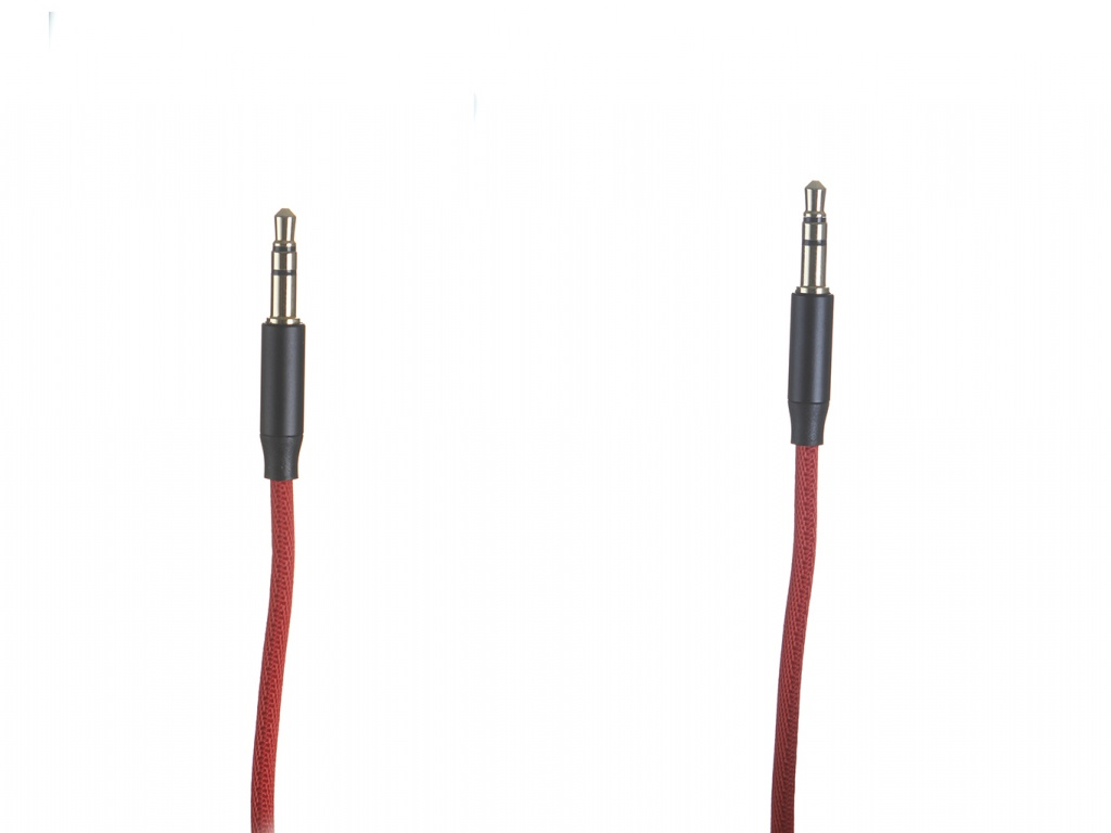 Аксессуар Baseus Yiven Audio Cable M30 Jack 3.5mm - 50cm Red-Black CAM30-A91