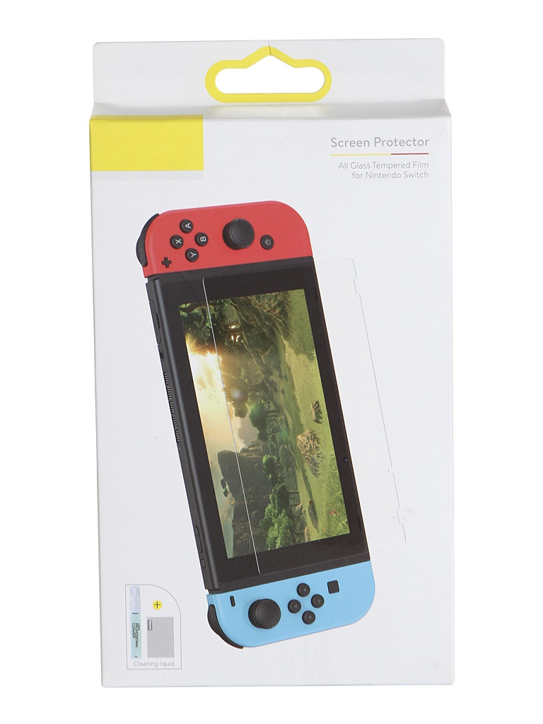 Защитное стекло Baseus 0.3mm All Glass Tempered Film for Nintendo Switch Transparent SGNS-A02