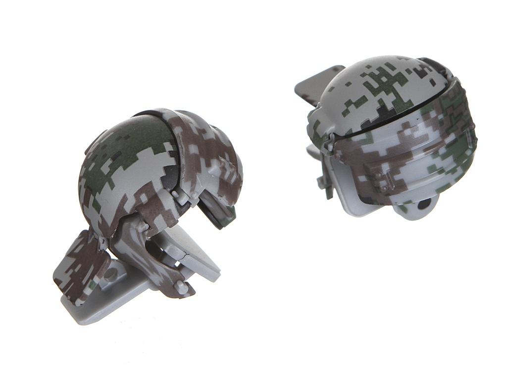 Джойстик Baseus Level 3 Helmet PUBG Gadget GA03 Camouflage Grey GMGA03-A0G