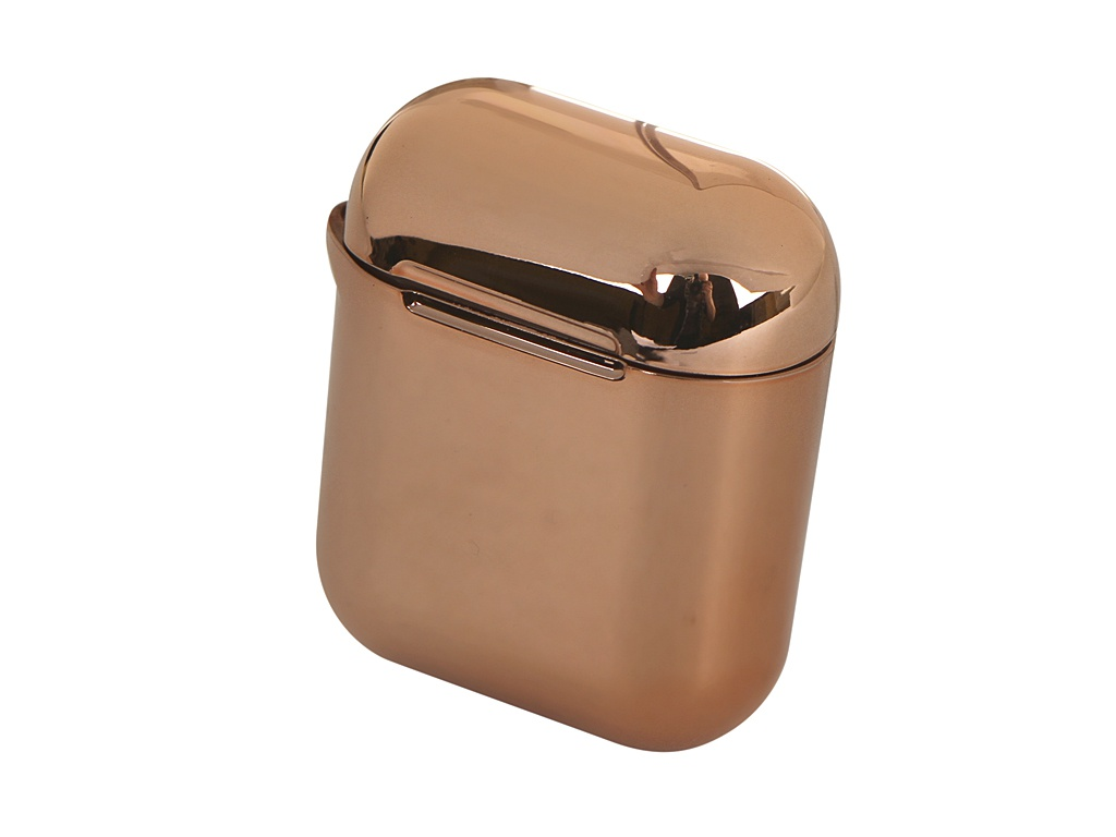 Чехол Baseus Shining Hook Case for Airpods 1/2 Generation Gold ARAPPOD-A0V