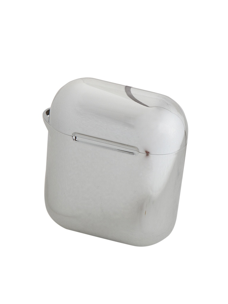 Чехол Baseus Shining Hook Case for Airpods 1/2Generation Silver ARAPPOD-A0S