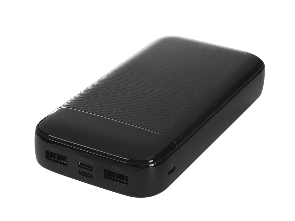 Внешний аккумулятор Baseus Power Bank Mini Cu Digital Display 20000mAh Black PPALL-CKU01