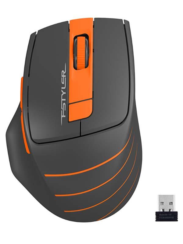Мышь A4Tech Fstyler FG30 Grey-Orange