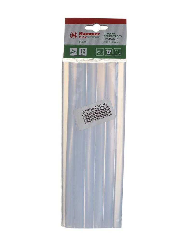 Клеевые стержни Hammer Flex 211-001 11.2mm x 200mm 12шт 34848