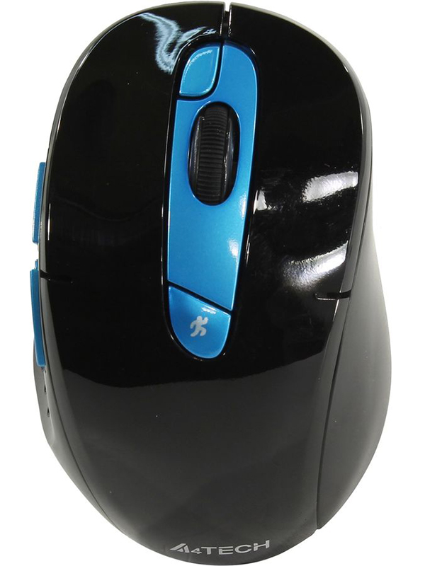 лучшая цена Мышь A4Tech V-Track G11-570FX Black-Blue