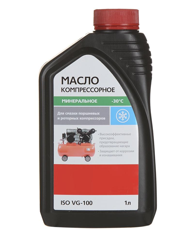 Масло компрессорное Hammer Flex 501-012 ISO VG-100 1L 54193 масло минеральное hammer flex 501 008 api sj cf 1l 54189
