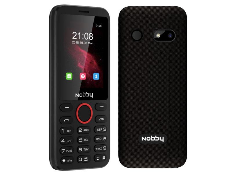 Сотовый телефон Nobby 231 Black
