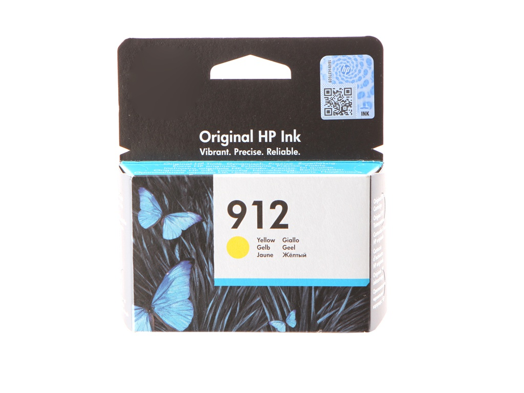 Картридж HP 912 Yellow 3YL79AE для OfficeJet 8013/8025