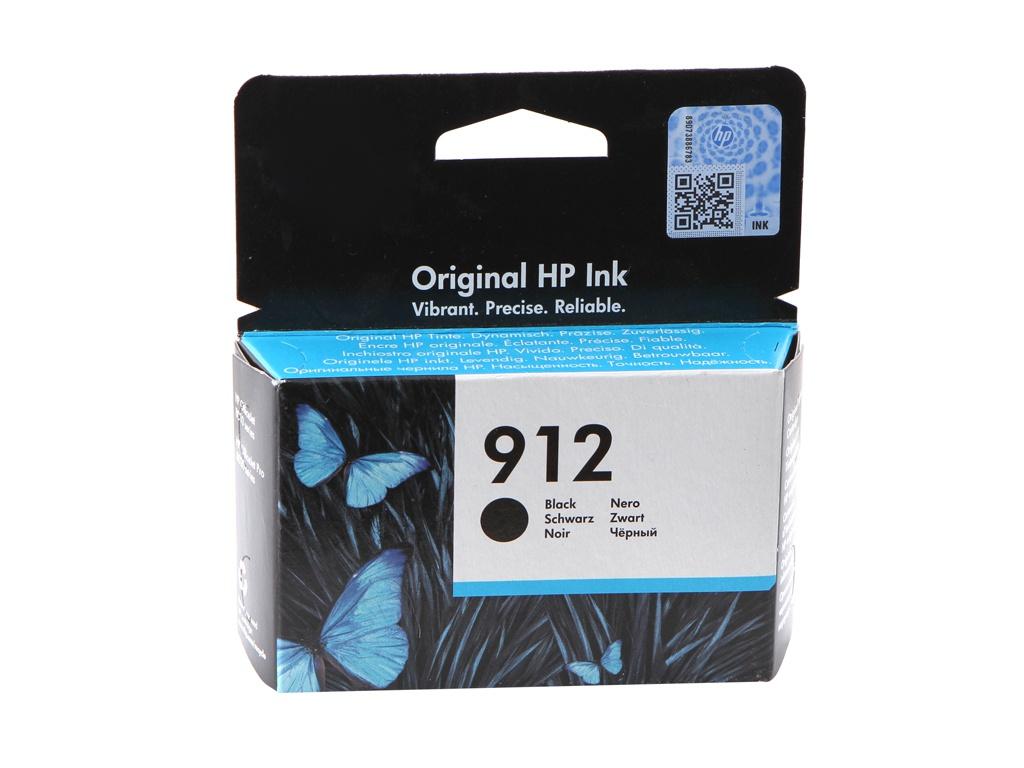 Картридж HP 912 Black 3YL80AE для OfficeJet 8013/8025