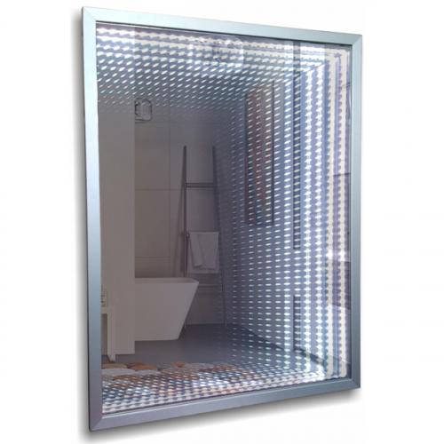 Зеркало Mixline Торманс 600x800mm тоннельная подстветка, багетная рама, выключатель-клавиша 539797