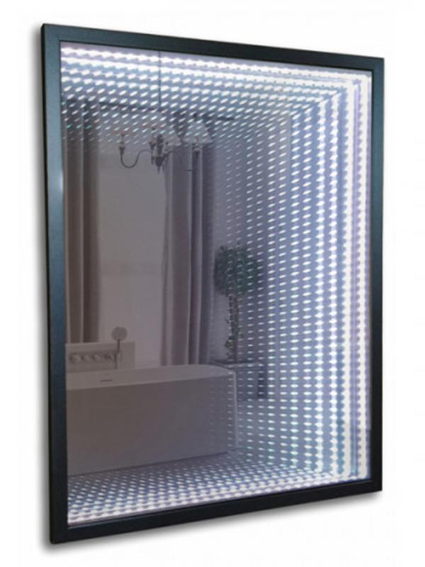 Зеркало Mixline Серенити 600x800mm тоннельная подстветка, багетная рама, выключатель-клавиша 539795
