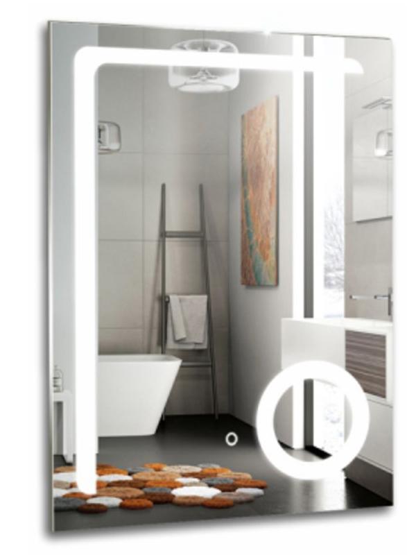 Зеркало Mixline Клио 600x800mm Sensor switch + увеличительное зеркало 539791