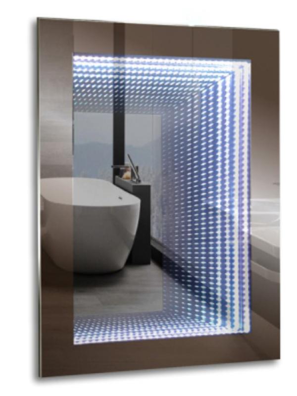 Зеркало Mixline Галактика 600x800mm тоннельная подстветка, выключатель-клавиша 539786