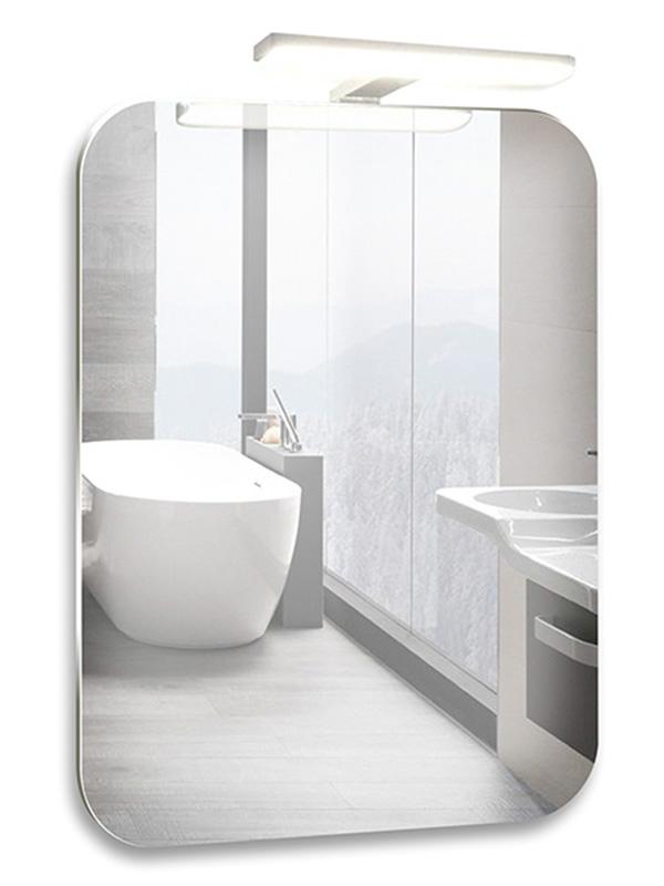 Зеркало Mixline Агат 550x800mm навесной светильник, выключатель-датчик на движение 533657