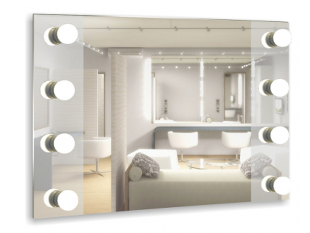 Зеркало Mixline Мерлин 800x600mm 8 цоколей, без ламп 530936