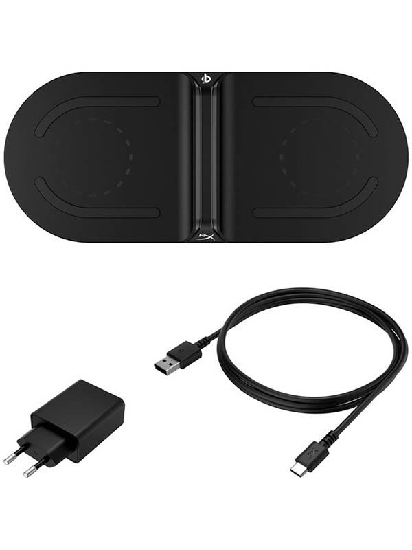 Зарядное устройство Беспроводное зарядное устройство Kingston HyperX ChargePlay Base Black HX-CPBS-C зарядное