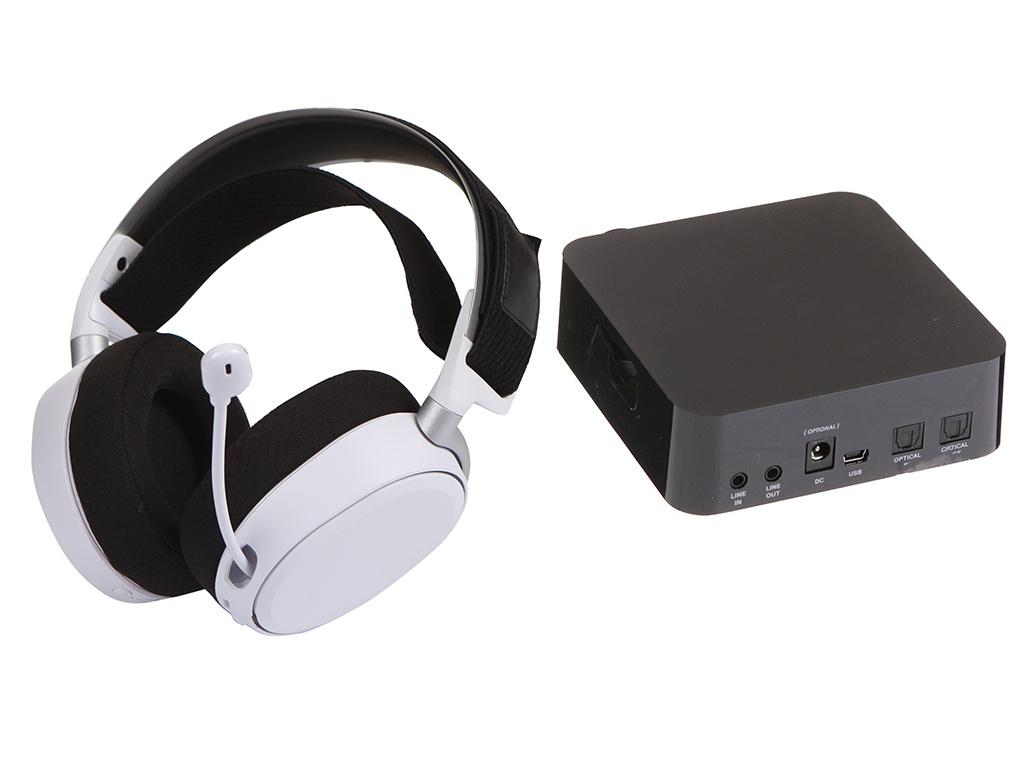 Наушники SteelSeries Arctis Pro Wireless (61474) White